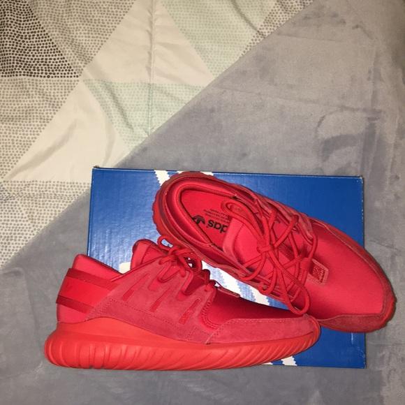 Adidas zapatos NWT hombre  zapatillas rojas poshmark